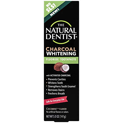 Natural Dentist Charcoal Fluoride Toothpaste