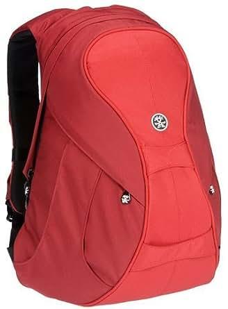 Crumpler THE BEER BACK Laptop Backpack (Dark Red/Red)