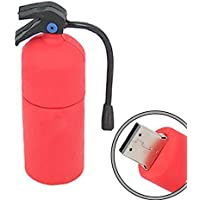 64GB Yonger Novelty Red Fire Extinguisher Shaped High Speed USB Flash Thumb Drive Memory Stick