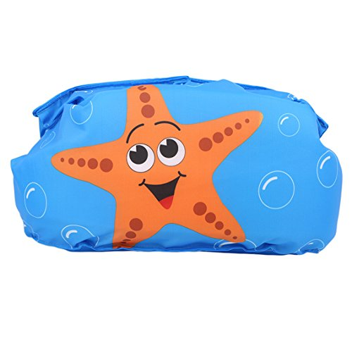 Dolland Swim Aids For Toddlers, Kids Learn to Swim Life Jacket for Infant, Floater Swim Aid Life Vest ,Starfish ()