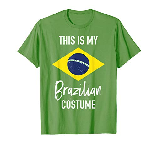 This is my Brazilian Costume T-Shirt - Funny Halloween Tee ()