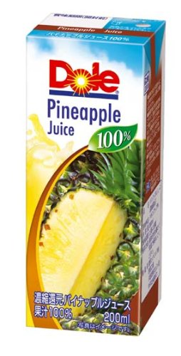 Dole pineapple 100% 200mlX18 this by Dole