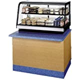 Federal Industries CRR4828SS Counter Top Refrigerated Self-Serve Rear Mount Merchandiser