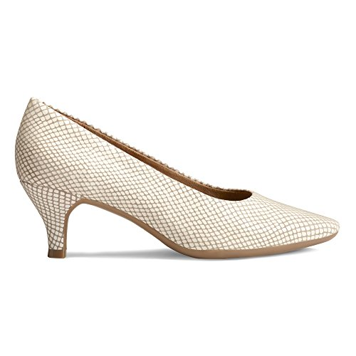 Aerosoles White Pump Stardom Dress Women's Snake g0qZfR