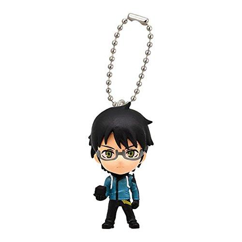 """Bandai World Trigger 02 Swing Keychain Mascot Figure ~1.5"""" - Mikumo Osamu"""
