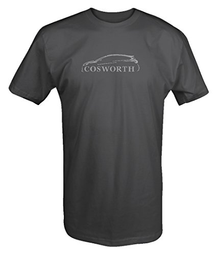 Stealth - Ford Focus ST RS COSWORTH Outline Banned USA T shirt - Large (Ford Focus Rs Vs Ford Focus St)