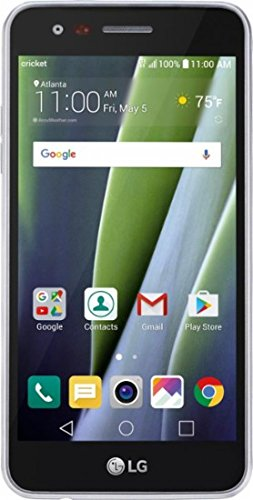LG Risio 2, K4 2017, 5-inch LCD, 16GB, Silver, (Unlocked), Android 6.0.1, 4G LTE Smartphone