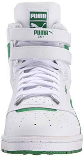 PUMA Herren Sky II Hallo FG Fashion Sneakers Weiß / Amazonas