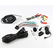 Xtenzi Connection Cable Set for Pioneer AVIC-X940BT AVIC-Z140BH GPS MIC RCA Wire Harness USB AUX Cable 5PCS Set