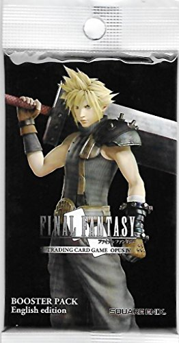 Game 4 Booster Pack (Final Fantasy Trading Card Game Opus IV Collection Booster Pack)