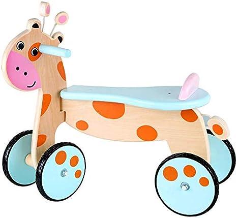 Oanzryybz Educación de la niñez temprana Hijos de Rocking Horse Walker Niños Ciervos Elevador for el automóvil del bebé del Caballo Mecedora de Juguete de Regalo Vespa