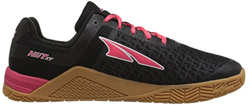 Altra Hiit Xt Vrouwen Cross-training Shoe | Crossfit, Gym Training, Lichtlopende | Nul Druppel Platform, Footshape Teen Doos, Fit4her Kracht Van Vrouwen-specifieke Fit | Perfect Voor Uw Sportschool Workouts Zwart / Rood