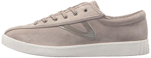 Suede Tretorn Sneaker Mushroom Nylite2plus Women's 4B4qwpRWX