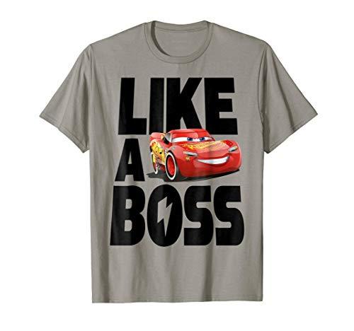 - Disney Pixar Cars 3 McQueen Like A Boss Graphic T-Shirt