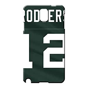 samsung note 3 covers protection Retail Packaging Protective Cases mobile phone case green bay packers nfl football