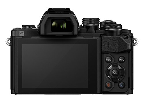 Olympus OM-D E-M10 Mark II Mirrorless Camera (Black) - Body only