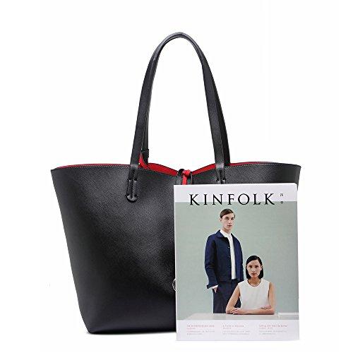 Bags Handbag Women's Large School Black Holiday Shopper For LeahWard® Shoulder College gIXqFB