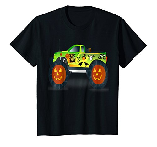 Kids Trick Or Treat T Shirt-Halloween Costume For Boys]()
