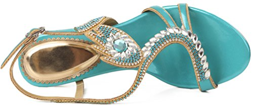 Slippers Shown Fashion Womens Loafer Wedding a Bride Green Prom PU Bridesmaid Party Comfort ZXL003 Abby nq8x7Rq