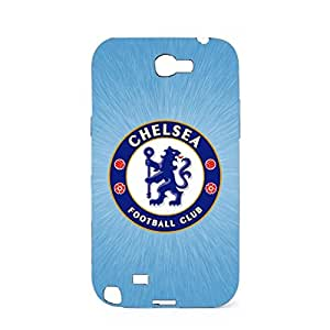 3D Vintage Printing Football Club Chelsea Mobile Case Plastic Back Protector Snap on Samsung Galaxy Note 2 N7100 FC Chelsea Logo