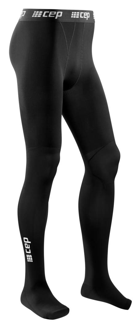 CEP Recovery Compression Leggings for Men Men's Recovery Pro Tights, Black II
