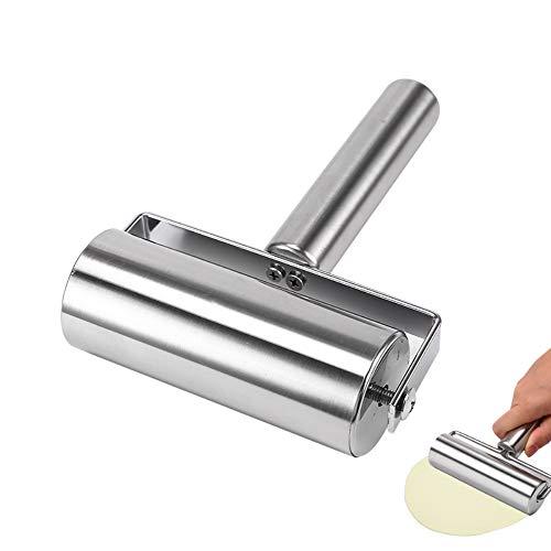 stainless dough roller - 1