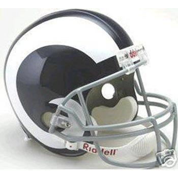 Los Angeles Rams 1965-1972 Deluxe Replica Throwback Full Size Helmet