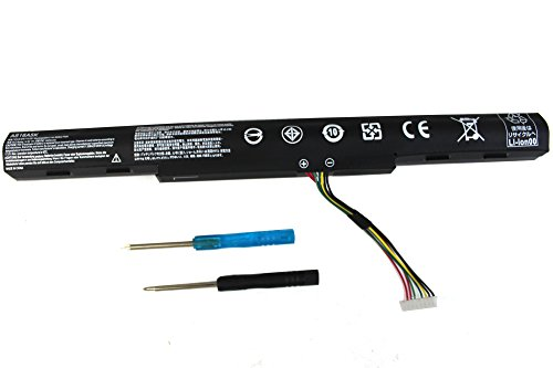 (SKY BOY AS16A5K Battery Compatible Acer Aspire E15 E5-475 E5-475G E5-523 E5-553 E5-575 E5-575G E5-576 E5-774 E5-774G F5-573 F5-573G F5-771 F5-771G E5-575G-53VG AS16A7K AS16A8K 4ICR19/66 4Cell Laptop)