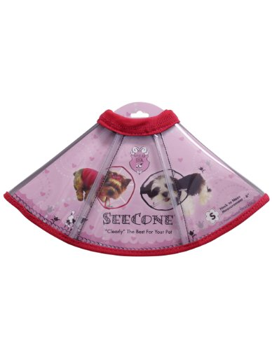 Viva La Dog Spa SeeCone for Dogs, Small, Pink