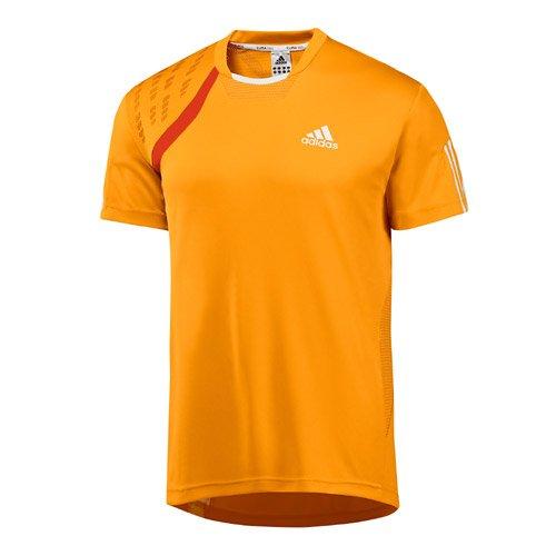Maglietta adidas M Edge Top di design di alta qualità. Da uomo. Per sport e tempo libero, Uomo, Orange