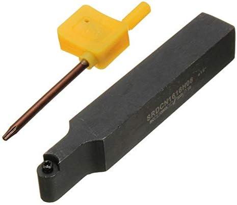 Qualitäts-CNC-Drehmaschine Werkzeug-Zubehör Halter Bohrstange for RCMT0803 / RCMX0803 R4 Runde Insert 16x100mm SRDCN1616H08 Drehwerk Drehen
