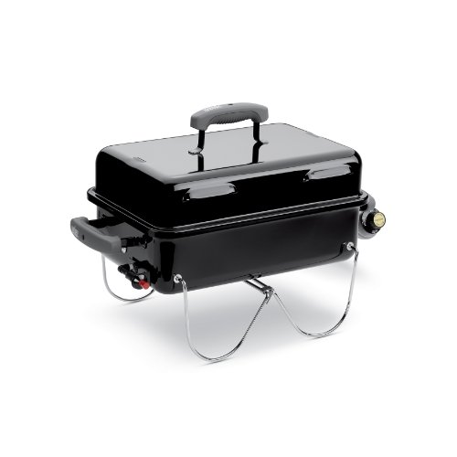 Weber 1141001 Go-Anywhere Gas Grill, ONE Size Black