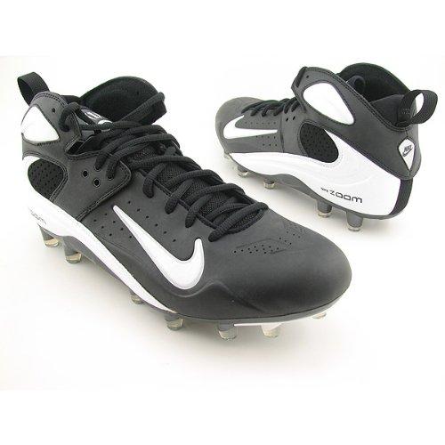 Zapatillas De Fútbol Nike Air Zoom Blade Pro Td Negras / Blancas / Plateadas Metálicas