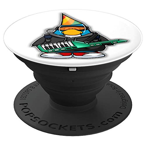 Funny Keytar Shred - Retro Music Nostalgia - PopSockets Grip and Stand for Phones and Tablets