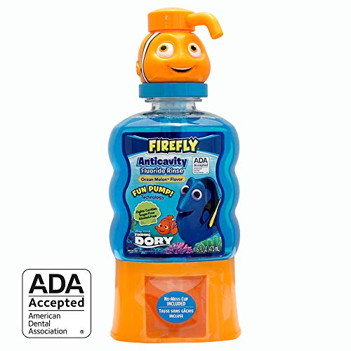 Firefly Anti-Cavity Mouth Rinse (16 Ounce, Pack of 4) (Dory)