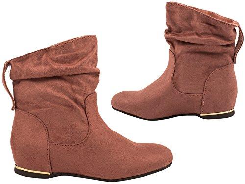 Elara - Botas de mujer | Cómodos botines clásicos | Botas planas Pink Trendy