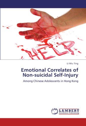 Emotional Correlates of Non-suicidal Self-Injury: Among Chinese Adolescents in Hong - Miu Miu Kong Hong