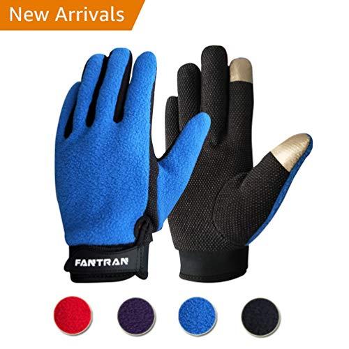 Touchscreen Winter Gloves With Polar Fleece, Lightweight Anti Slip Winter Warm Gloves, Men And Women