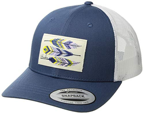 Columbia Kids & Baby Snap Back Hat, Carbon/Feather Patch, One Size