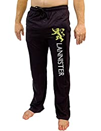 ecfa5801d5 Game of Thrones House of Men s Pajama Pant Costume Adult Lounge Sleep Black