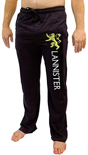 Game of Thrones House of Men's Pajama Pant Costume Adult Lounge Lannister XL]()