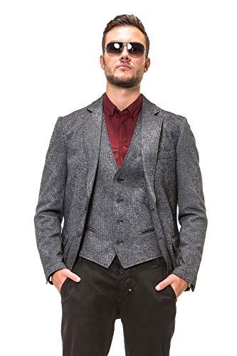 Morato Antony Melange Dark Blazer Grey Homme fArAdq