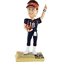 Forever Collectibles Peyton Manning Denver Broncos Record Breaker Bobblehead 509 Td Passes
