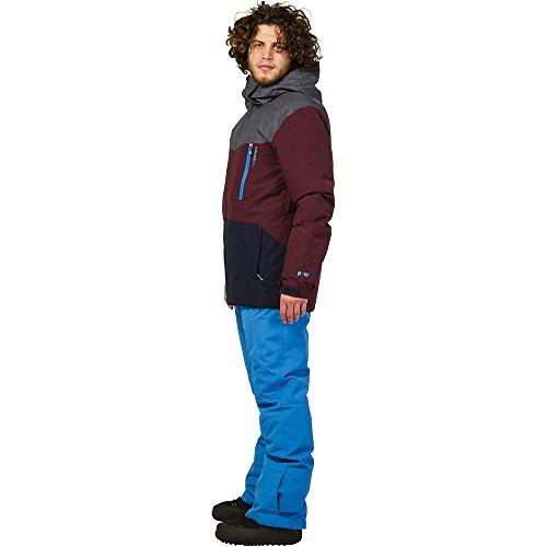Hombre morado Chaqueta azul de Protest gris oscuro Esquí Tailgrab nB6ISxwUqF