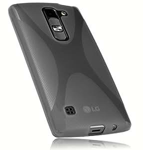 Mumbi carcasa de X-TPU para LG Spirit 4G negro transparente (importación Alemania)