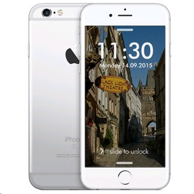 Apple iPhone 6S, Fully Unlocked, 128GB - Space Gray (Certified Refurbished)