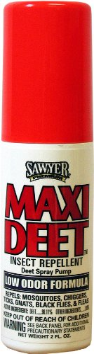 Sawyer Products SP718 Premium Maxi-DEET Insect Repellent, Pump Spray, 2-Ounce 100 Deet Insect Repellent