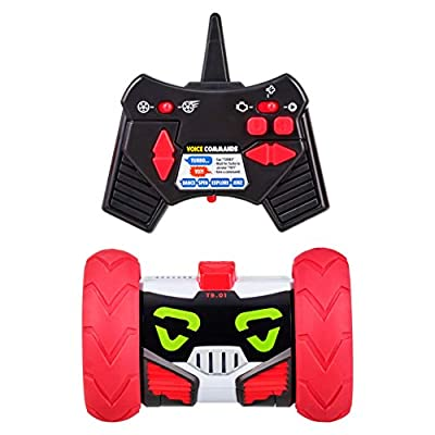 Really RAD Robots - Electronic Remote Control Robot with Voice Command - Built for Speed and Tricks - Turbo Bot
