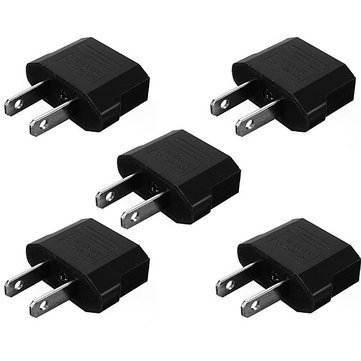 Chargers & Cables - 5xeu ToTravel Charger Adapter Plug Outlet Converter - Travel Charger Adapter International Plug Converter ForUsb Ports 2a 3 Universal World Wide 5v 3a Uk - - Outlets In Nevada