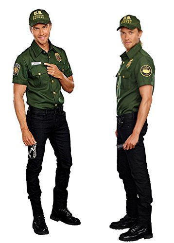 Adult size Agent Bill D. Wall Costume - Large 42-44 Inch Chest